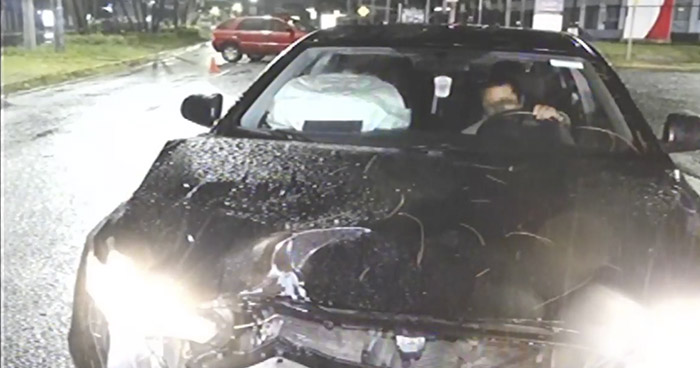 Docente universitario en estado de ebriedad provoca choque y deja 2 lesionados