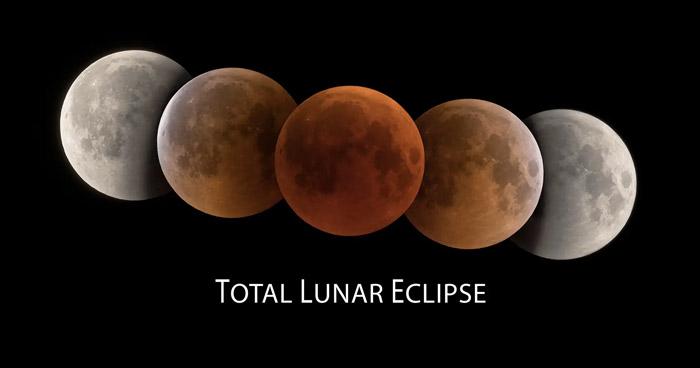 A que hora y dónde puedo ver el eclipse total de Luna 2019
