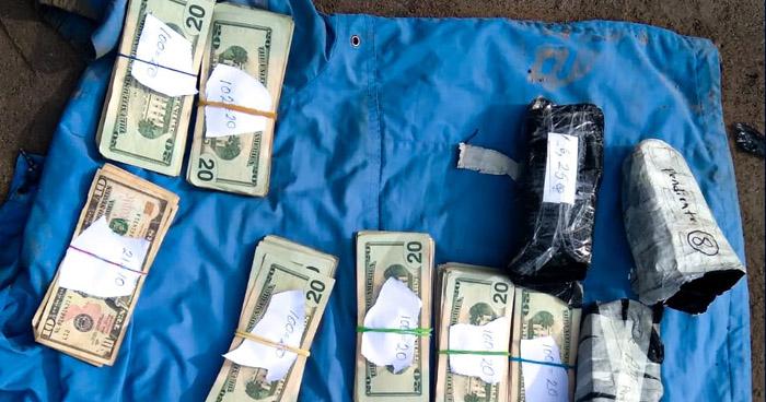 Prisión para sujetos detenidos con más de $42.000 en punto fronterizo