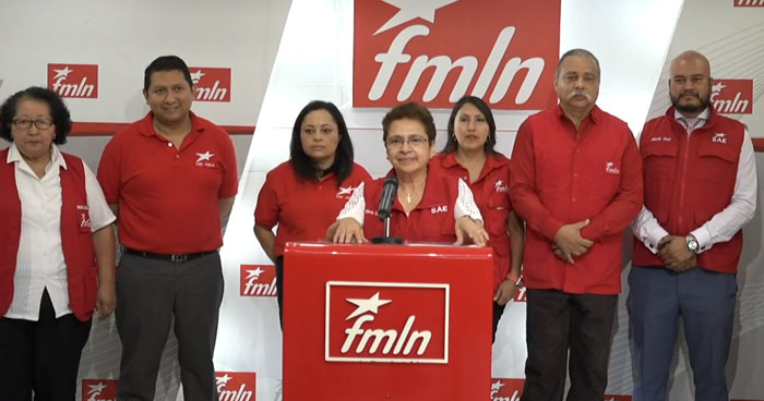 Comisión electoral del FMLN convoca a elecciones para elegir nueva dirigencia