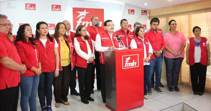 FMLN adelantará las elecciones internas tras rechazo de la población en elecciones presidenciales