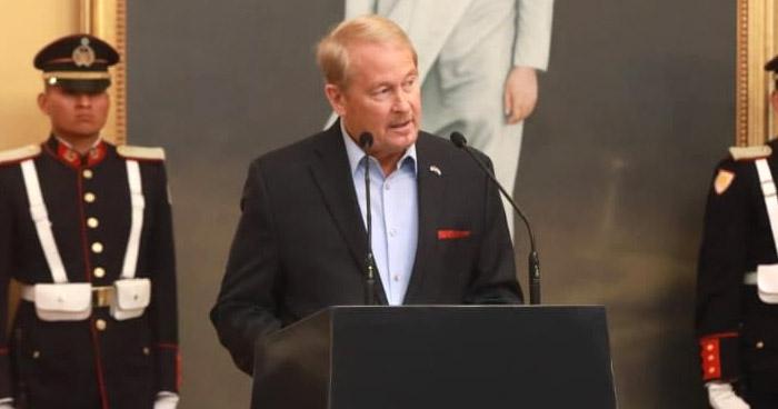 Embajador de EE.UU. desaprueba militarización de la Asamblea Legislativa