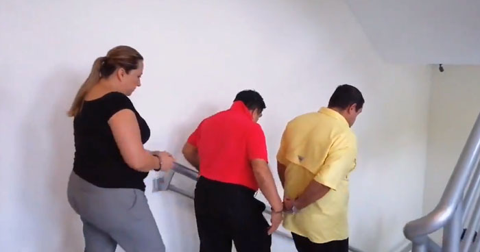 Empleados de la PNC condenado a 12 años de cárcel por apropiación de fondos públicos
