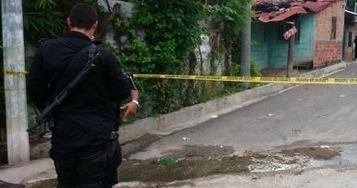 Pandillero muerto tras enfrentamiento con policías en Aguilares