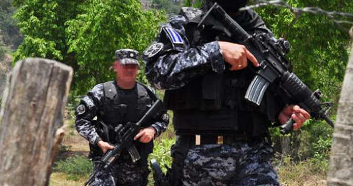 Pandillero muerto durante intercambio de disparos con policías en Chalatenango