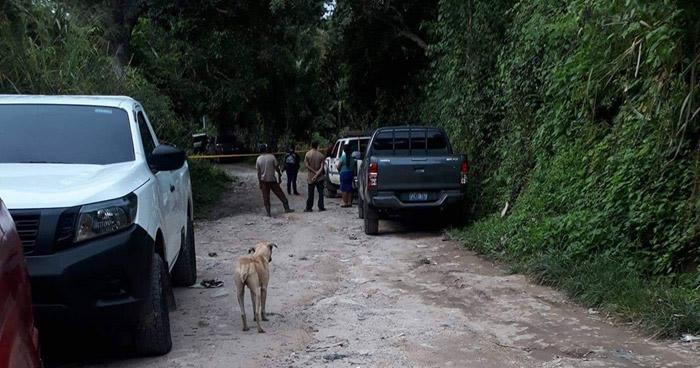 Pandillero muerto al enfrentarse a policías en Ilobasco