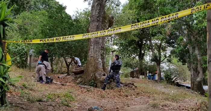 Pandillero muerto durante un enfrentamiento en Jucuarán, Usulután