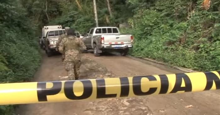 Dos pandilleros muertos, tras enfrentamiento armado con agentes de la STO en Huizúcar