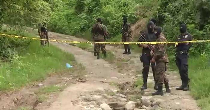 Pandillero muerto tras intercambio de disparos con agentes de la PNC en Cuscatlán