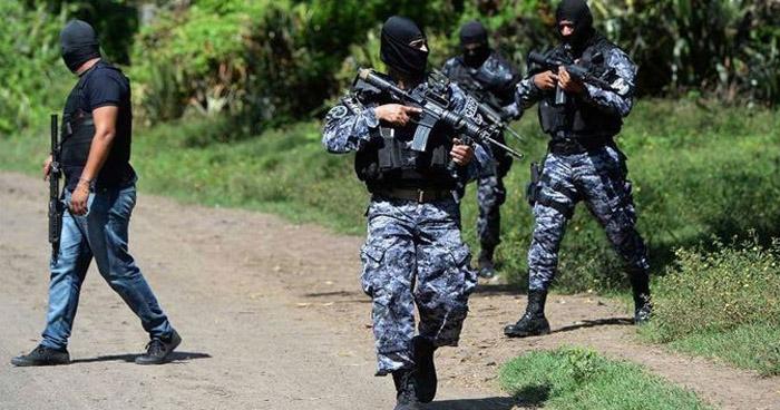 Dos pandilleros mueren tras enfrentarse a la PNC en San Ildefonso, San Vicente
