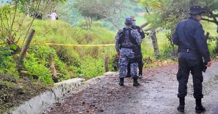 Pandillero muere tras intercambio de disparos contra miembros de la STO en Santa Ana