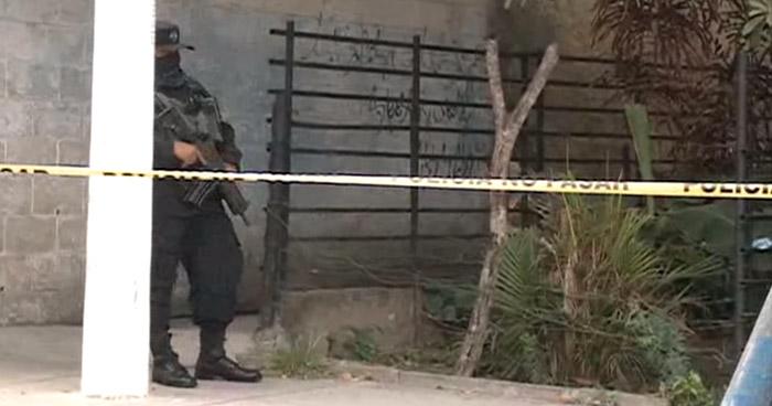 Pandillero muere tras intercambio de disparos con policías en La Campanera, Soyapango