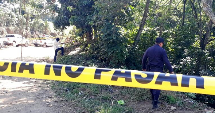 Pandillero MS muerto al enfrentarse a policías en Texistepeque, Santa Ana