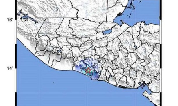 MARN registra 38 sismos en zona de Atiquizaya, Ahuachapán