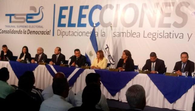 TSE brindan informe del escrutinio final de resultados de elecciones del 4 de marzo