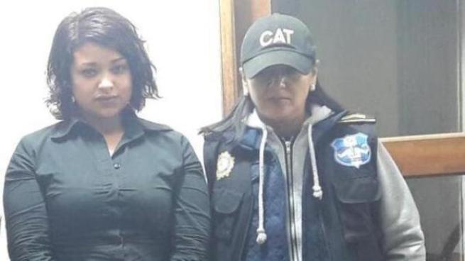 Capturan a la esposa de un pandillero salvadoreño en Guatemala