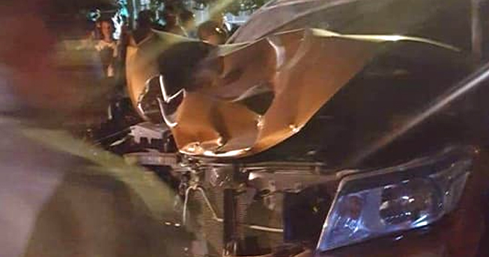 Esposos mueren al ser arrollados por un conductor en Zacatecoluca