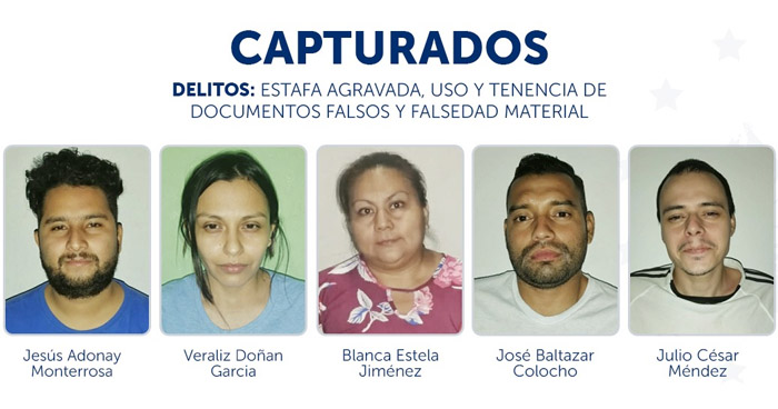 Estafaron más de $57,000 a una entidad bancaria en Colón, La Libertad