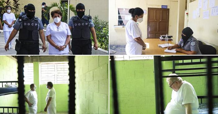 Exfuncionarios del FMLN trasladados a centros penales La Esperanza y Cárcel de Mujeres