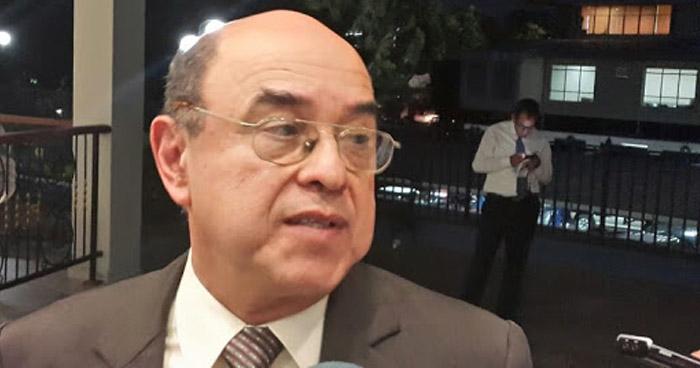 """Patrullas frente a casa de expresidente de la CSJ """"fue casualidad"""", dice director de la PNC"""