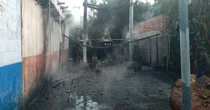 Reportan explosión en transformadores de una planta de ANDA en Cuscatlán