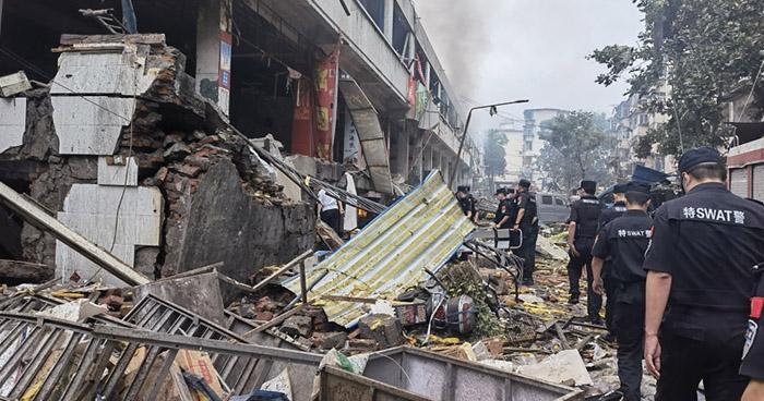 Una docena de muertos y 39 heridos tras explosión de gas en China