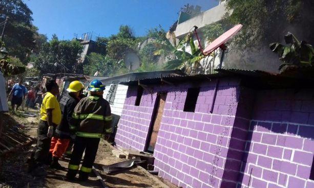 Se registra explosión en una cohetería clandestina de Ciudad Delgado, San Salvador