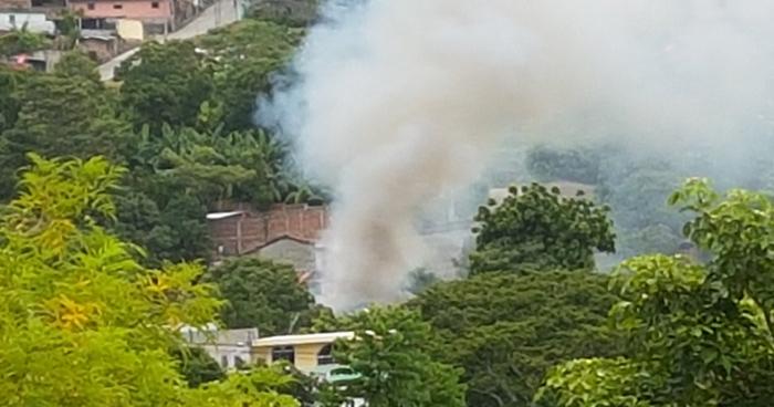 Al menos 3 lesionados tras explosión de Cohetería en Cojutepeque