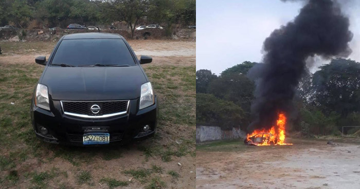 Vehículo que hicieron explotar para lesionar a policías en Soyapango tenía reporte de robo