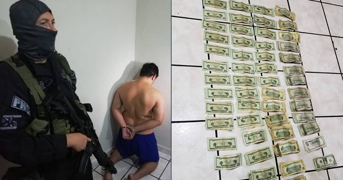 Decomisan $5,000 en efectivo producto de extorsión y otros ilícitos durante operativo