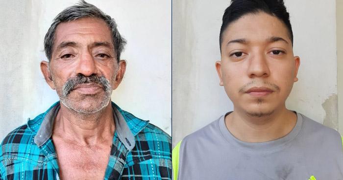 Capturados cuando recogían extorsión en mercado de San Salvador