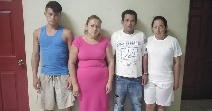 Capturan e intiman a pandilleros que vivían del cobro de extorsiones en San Miguel