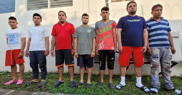 Capturan a extorsionistas que operaban en San Matías, La Libertad