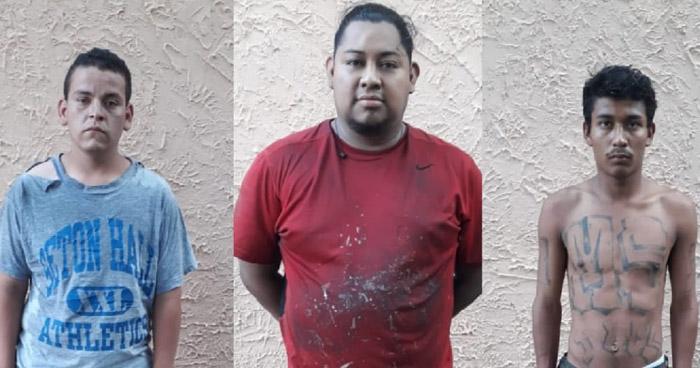 PNC atrapa a tres extorsionistas que operaban en la ciudad de San Salvador