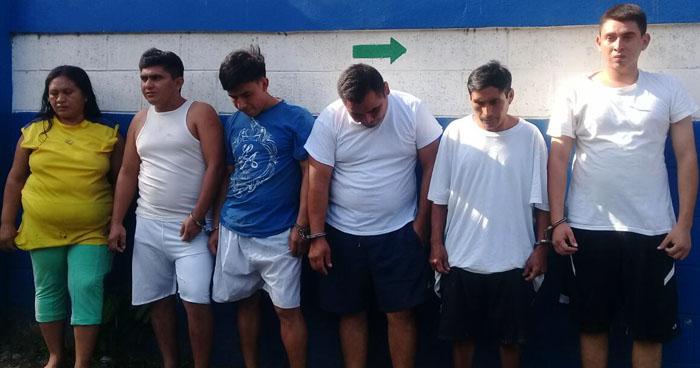 Desarticulan a banda de extorsionistas que operaban en Sonsonate