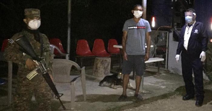 Detienen a hondureño que intentaba ingresar de forma ilegal a El Salvador