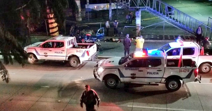 Mujer fallecida tras aparatoso accidente de tránsito en carretera Panamericana