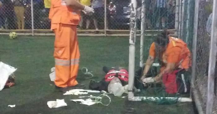 Hombre muere en partido de fútbol en canchas de COOPEFA en San Salvador