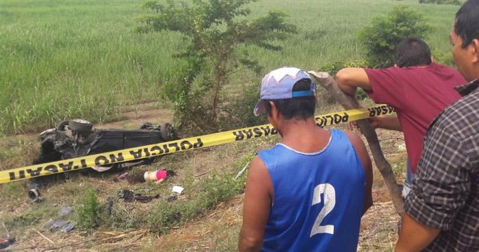 Un muerto y dos lesionados tras accidente en carretera Litoral, La Paz
