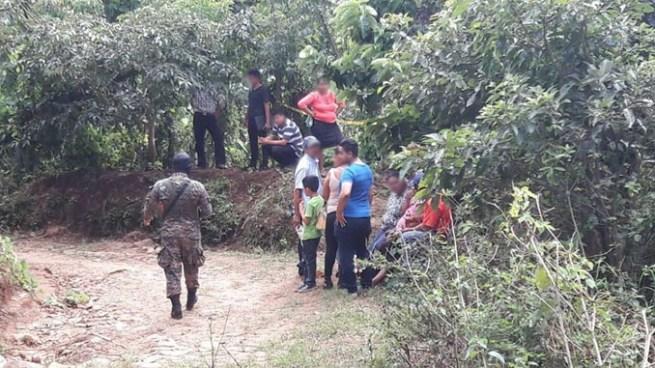 Delincuentes matan a una mujer en Tepecoyo, La Libertad