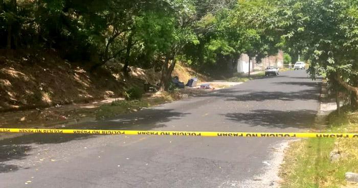 Asesinan a una joven, de 19 años, en la colonia Amatepec de Soyapango