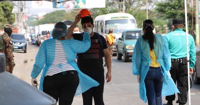 Detectan fiebre en 8 personas que intentaba ingresar a la ciudad de San Miguel