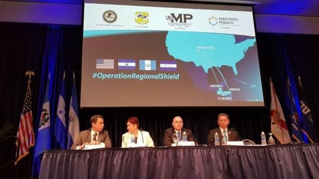 """Fiscal de EE.UU. y fiscales del Triángulo Norte informaron sobre resultados de """"Operación Escudo Regional"""""""