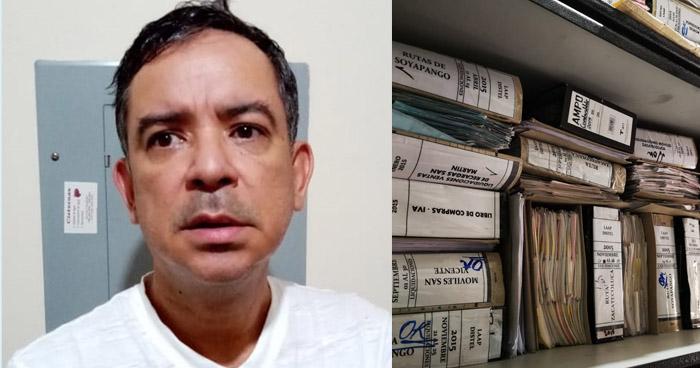 Detenido por apropiación indebida de más de $27 Mil y más de $1 Millón de evasión de impuestos