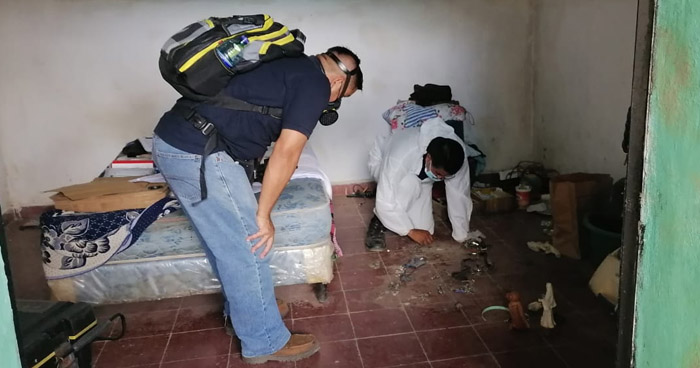 Encuentran restos de 10 personas en vivienda del exagente acusado de doble feminicidio en Chalchuapa