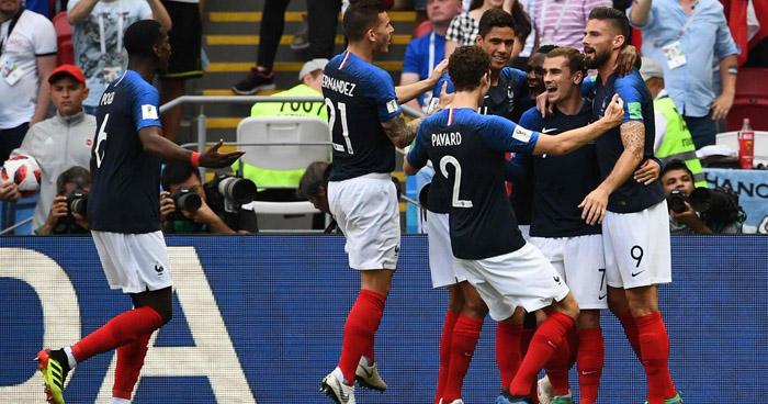 Francia se clasifica a cuartos y elimina a Argentina de Rusia 2018