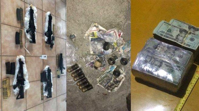 Fuerza Naval interceptó armas de grueso calibre y fuerte cantidad de dinero en Costa Sol