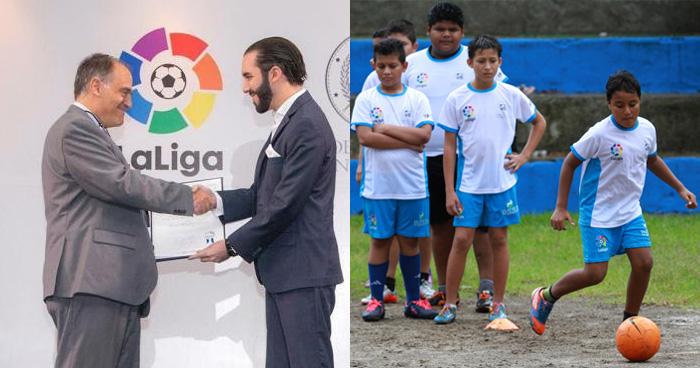 Fundación LaLiga creará 262 escuelas socio-deportivas en El Salvador