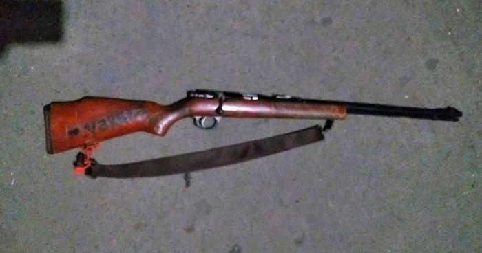 Capturado con un fusil en Conchagua, La Unión
