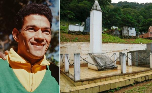 Desaparecen los restos de una de las leyendas del fútbol en el cementerio donde estaba enterrado